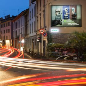 Via Moroni Bergamo Cartellone Dielle