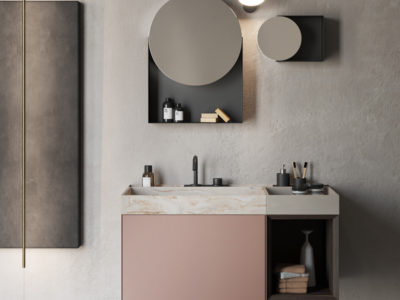 Galleria Compact Living firmato Rexa Design